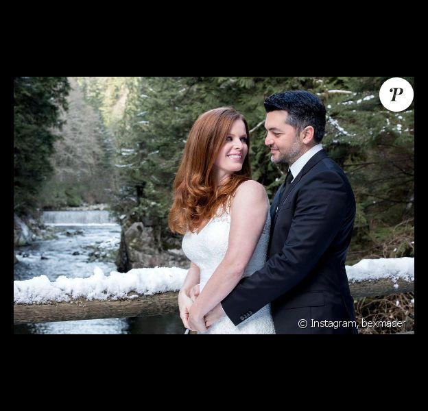 Rebecca Mader annonce avoir épousé son fiancé Marcus Kayne, le 23 novembre 2016. Photo publiée sur sa page Instagram le 13 décembre 2016
