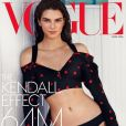 """Kendall Jenner en couverture de Vogue, avril 2016"""
