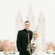 Witney Carson et son époux Carson McAllister - Photo publiée le 2 janvier 2016