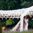 Exclusif - Cérémonie du mariage de Eva Longoria et José Baston au Mexique à Vallee de Bravo le 21 mai 2016.
