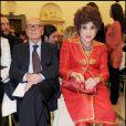 Gina Lollobrigida et Ennio Morricone