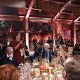 Livia Firthau dîner de Noël de l'Institut Européen d'Oncologie, au profit de la fondation de l'institut (Fondazione IEO CCM) à la Villa Necchi Campiglio.Milan le 13 décembre 2016.
