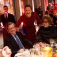 Livia Firthau dîner de Noël de l'Institut Européen d'Oncologie, de la fondation de l'institut (Fondazione IEO CCM) à la Villa Necchi Campiglio.Milan le 13 décembre 2016.