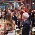 Livia Firthau dîner de Noël de l'Institut Européen d'Oncologie, au profit de la fondation de l'institut (Fondazione IEO CCM) à la Villa Necchi Campiglio. Milan le 13 décembre 2016.