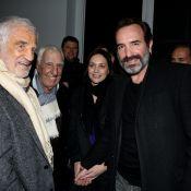 Jean Dujardin et Nathalie Péchalat : Le couple face au héros du jour Belmondo