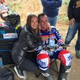 Pol Espargaró et sa compagne Carlota Beltrán. Le pilote de MotoGP a demandé sa belle en mariage au cours de ce séjour, et elle a dit oui ! Photo Instagram.