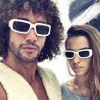 """Laurent Maistret pose avec Denitsa Ikonomova, sa partenaire de la saison 7 de """"Danse avec les stars"""", sur Instagram. Décembre 2016."""