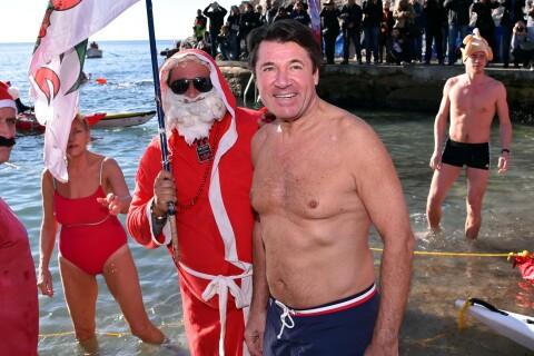Christian Estrosi : Un homme, un vrai, dans l'eau glacé pour Noël...