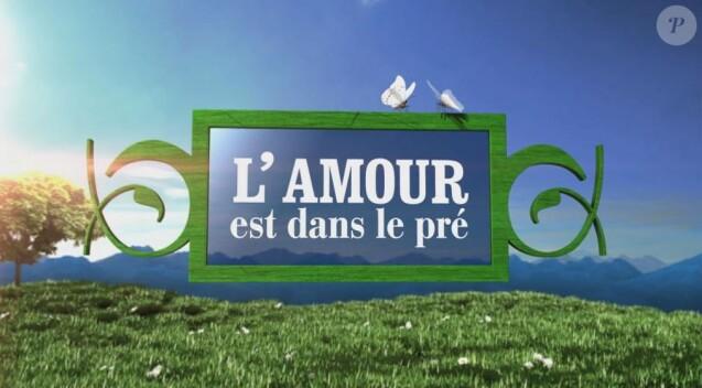 """Logo """"L'amour est dans le pré"""""""