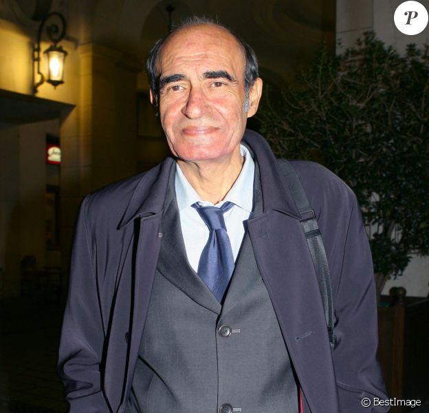 """Philippe Khorsand - Soirée de générale de la pièces """"Les grandes occasions"""" au théâtre Edourad VII, à Paris, le 18 septembre 2006."""