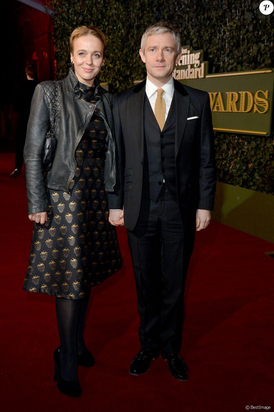 Amanda Abbington Sexy amanda abbington et son mari martin freeman à la soirée