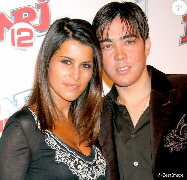 Karine Ferri et Grégory Lemarchal - Soirée pour les deux ans de la chaîne NRJ 12 et le lancement de NRJ Hits à Paris le 23 mars 2007.