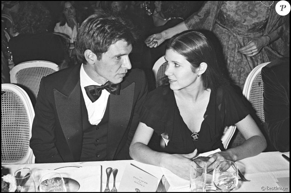 Harrison Ford et Carrie Fisher à Deauville pour la présentation du film Blade Runner en 1982