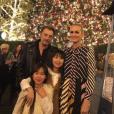 Les Hallyday à Los Angeles, décembre 2016