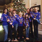 Johnny Hallyday : Un Noël féérique avec ses filles, Laeticia et leurs amis...
