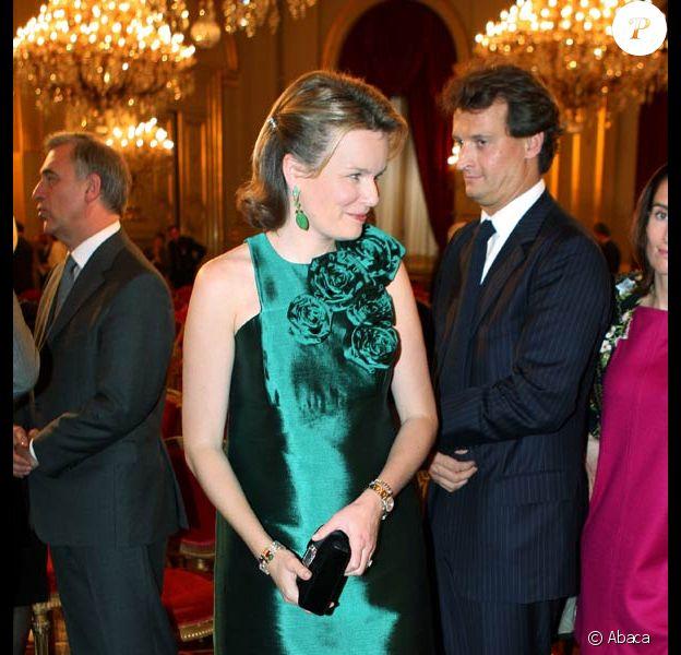 Concert de Noël au Palais Royal de Belgique : Princesse Mathilde