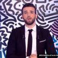 """Aymeric Bonnery animateur du """"Mad Mag"""" en l'absence d'Ayem Nour, lundi 2 janvier 2017"""