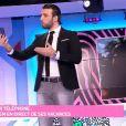 "Aymeric Bonnery appelle Ayem Nour en direct du ""Mad Mag"", lundi 2 janvier 2017, sur NRJ12"