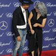 Pharrell Williams et Mimi Valdes lors de la soirée de gala du festival international du film de Palm Springs au centre de congrès de Palm Spring, Californie, Etats-Unis, le 2 janvier 2017. © Birdie Thompson/AdMedia/Zuma Press/Bestimage