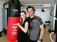 David Hallyday : Intense cours de boxe avec sa fille Emma après les fêtes !