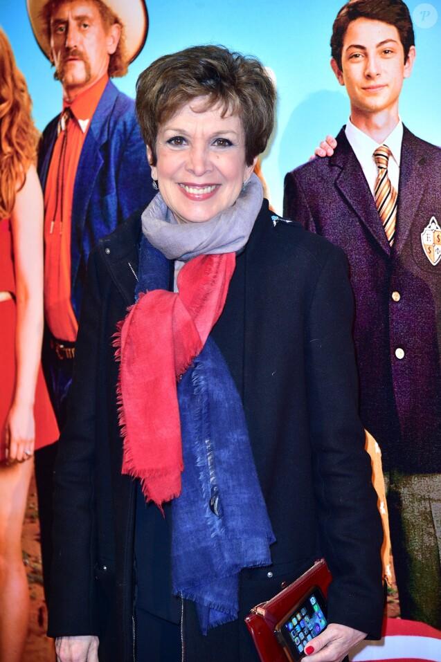"""Françoise Laborde - Avant-première du film """"Les Tuches 2"""" au cinéma Gaumont-Opéra à Paris le 25 janvier 2016. © Giancarlo Gorassini/Bestimage25/01/2016 - Paris"""