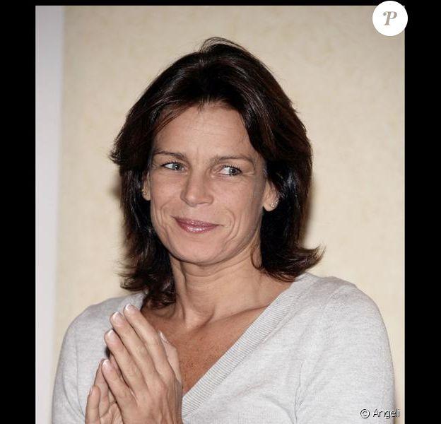 Stéphanie de Monaco remet les diplômes de fin d'étude des infirmiers