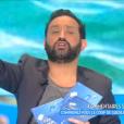 """""""Cyril Hanouna dans """"Touche pas à mon poste"""" sur C8, le 4 janvier 2017."""""""