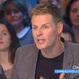 """Le chroniqueur Matthieu Delormeau dans """"Touche pas à mon poste"""" sur C8, le 4 janvier 2017."""