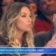 """""""Clio Pajczer dans """"Touche pas à mon poste"""" sur C8, le 4 janvier 2017."""""""