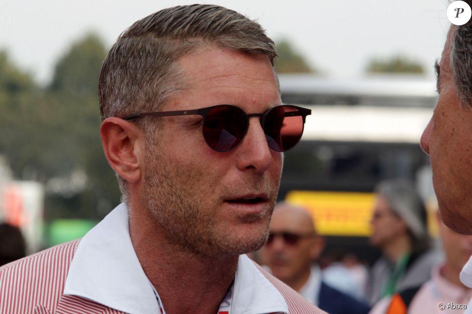 Lapo Elkann au Grand Prix de F1 de Monza. Le 4 septembre 2016.