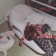 """""""Pink a publié une photo de ses deux enfants sur sa page Instagram en janvier 2016"""""""