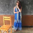 Meghan Markle au Rwanda en février 2016 avec l'ONG World Vision dont elle est ambassadrice, photo Instagram 2016.