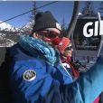 """Gilles Verdez dans """"TPMP au ski"""", les images dévoilées dans """"TPMP"""", lundi 9 janvier 2017, sur C8"""