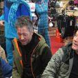 Jean-Luc Lemoine et Jean-Michel Maire au ski, à  Montgenèvre,  Twitter, 17 décembre 2016