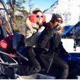 Capucine Anav et Valérie Benaïm au ski, à  Montgenèvre,  18 décembre 2016, sur Instagram