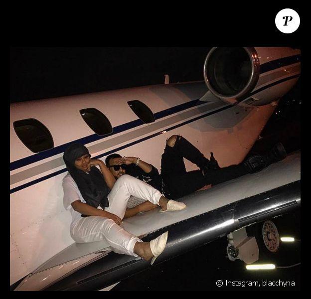 Blac Chyna s'affiche avec French Montana, l'ex de Khloé Kardashian sur Instagram le 10 janvier 2017.