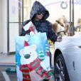 Blac Chyna se rend dans un salon de manucure à Los Angeles le 26 décembre 2016.