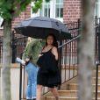 Exclusif - Blac Chyna enceinte et son fiancé Rob Kardashian sur le tournage de leur téléréalité à Washington le 4 juillet 2016
