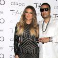Khloe Kardashian et French Montana au nightclub Venetian Resort Hotel & Casino à Las Vegas Le 05 Juillet 2014