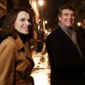 Arnaud Montebourg et Aurélie Filippetti : Un couple soudé et enjoué en campagne