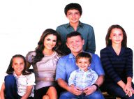 PHOTOS : Rania de Jordanie et sa famille ont une carte de voeux pour vous !