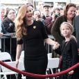 """Amy Adams et sa fille Aviana - Amy Adams reçoit son étoile sur le célèbre """"Walk of Fame"""" à Hollywood, Los Angeles, Californie, Etats-Unis, le 11 janvier 2017."""