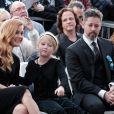 """Amy Adams, son compagnon Darren Le Gallo et leur fille Aviana - Amy Adams reçoit son étoile sur le célèbre """"Walk of Fame"""" à Hollywood, Los Angeles, Californie, Etats-Unis, le 11 janvier 2017."""