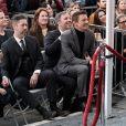 """Darren Le Gallo, sa fille Aviana, Denis Villeneuve et Jeremy Renner - Amy Adams reçoit son étoile sur le célèbre """"Walk of Fame"""" à Hollywood, Los Angeles, Californie, Etats-Unis, le 11 janvier 2017."""