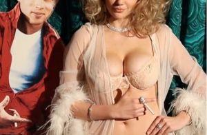 Kate Upton : Cache-cache sexy en sous-vêtements avec la bombe