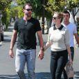 Kate Upton est allée déjeuner avec son fiancé Justin Verlander au restaurant Fred Segal à West Hollywood, le 4 octobre 2016.