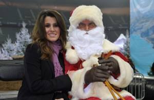 PHOTOS : Karine Ferri, une bien belle mère Noël avec... le roi du patin!