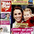 """Magaziné """"Télé Star"""" en kiosques le 16 janvier 2017."""