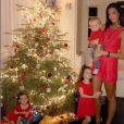 Jade Foret a partagé des photos de son Noël avec ses enfants sur Instagram. Janvier 2017