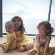 Jade Foret en vacances à Miami avec ses trois enfants et son mari Arnaud Lagardère. Photo publiée sur Instagram le 1er novembre 2016